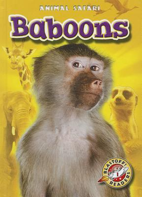 Baboons By Borgert-spaniol, Megan